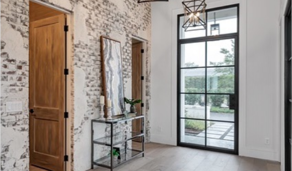 5 Interior Design and Décor Colors That Pair Perfectly With Black Steel Doors