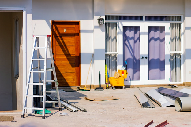 Depicting a home improvement project