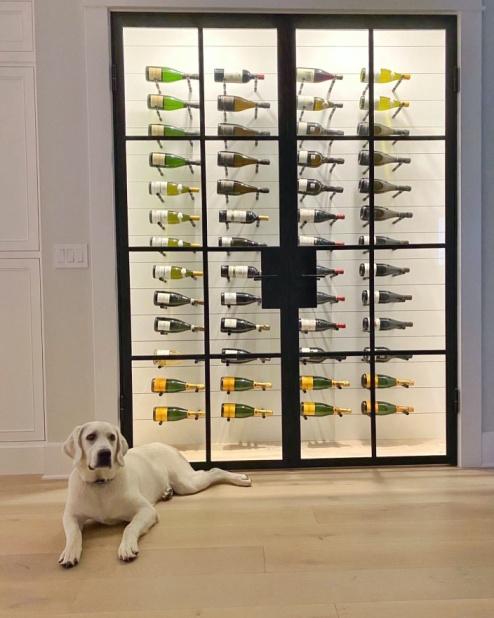 wine cellar steel door
