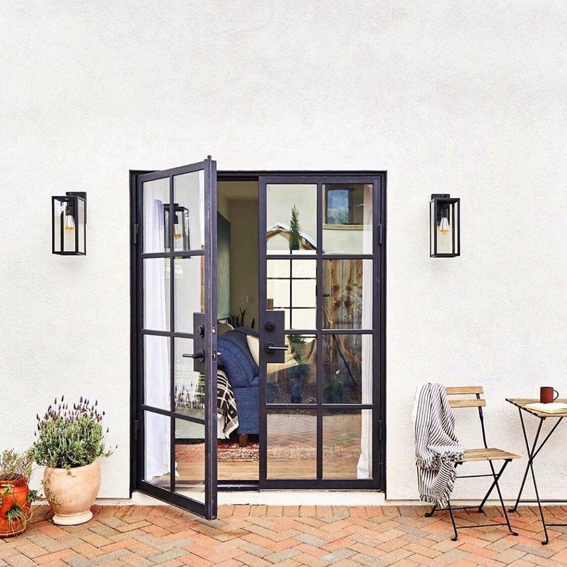 steel patio door