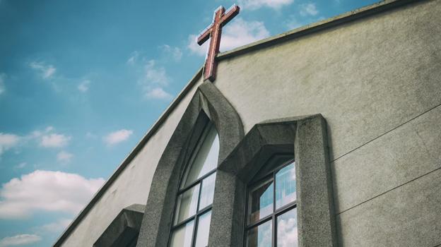 A Church in California.