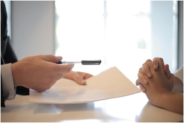 Signing asset-based lending paperwork