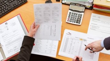 Calculating commercial lending