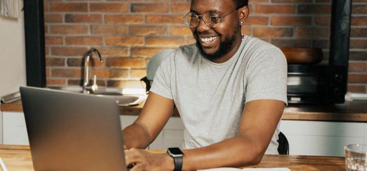 A credit repair specialist setting up his affiliate program